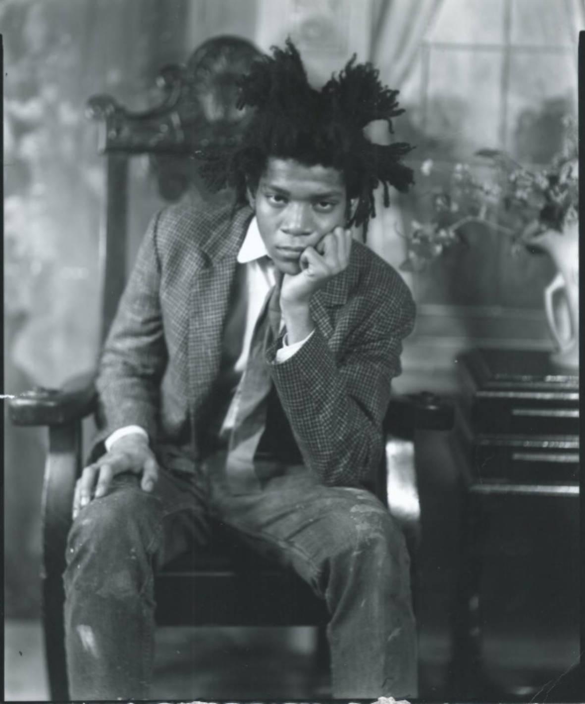 Basquiat Over New York