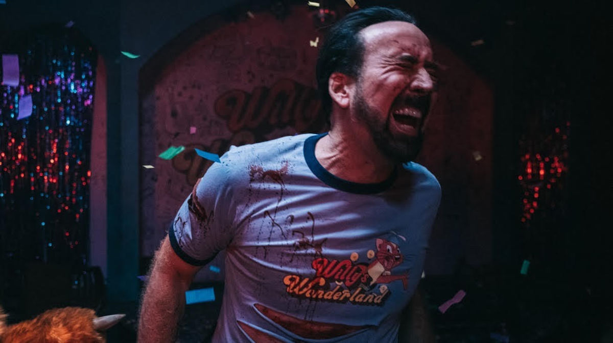 The Predictable Unpredictability of Nicolas Cage - Willy's Wonderland - Film Review