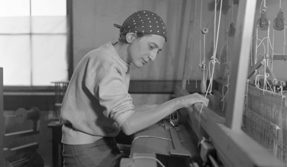 Anni Albers Looms Over Everything