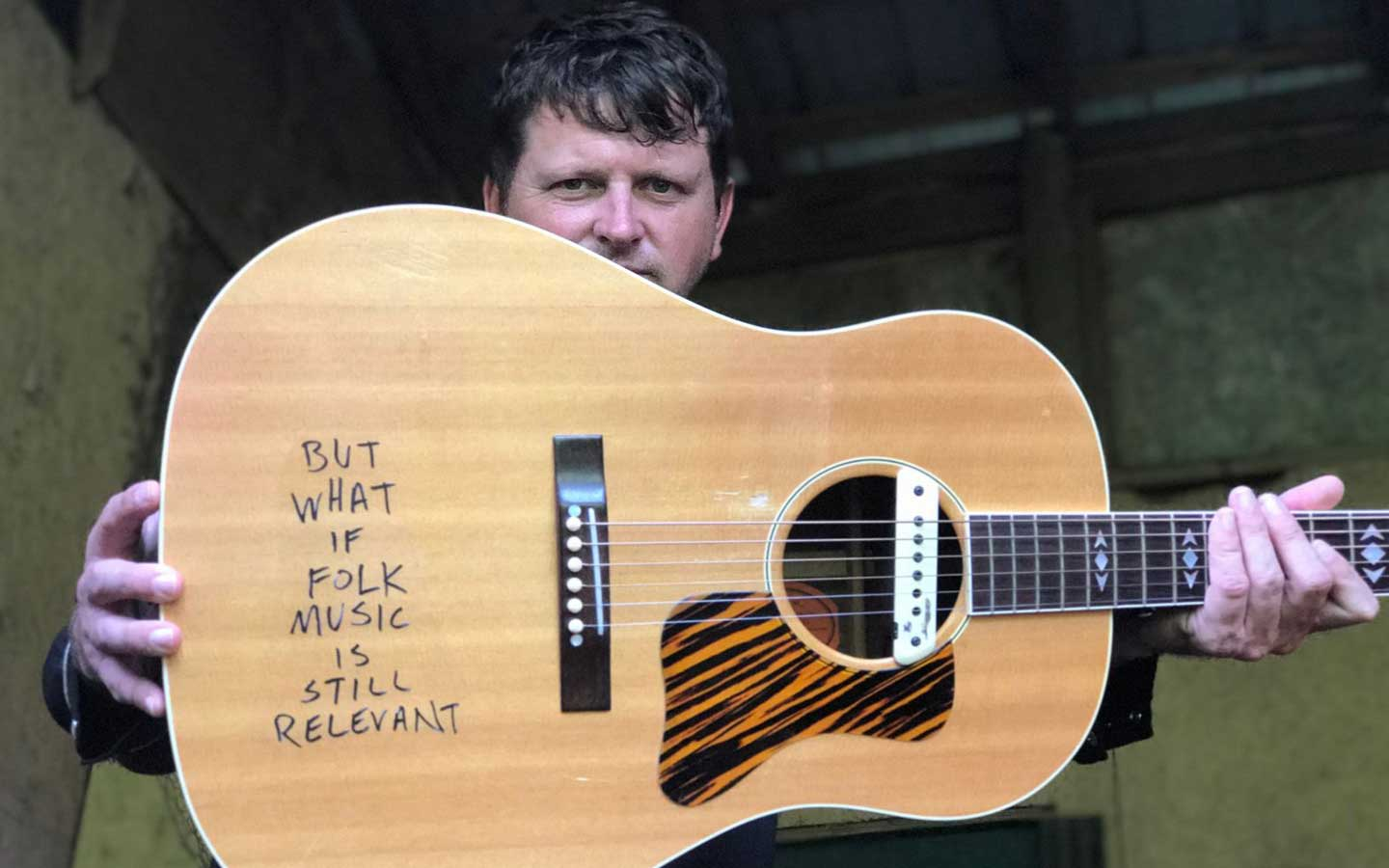 Honest Abe Abe Partridge, Alabama's acclaimed songwriter and folk artist, paints the UK whatever colors he wants