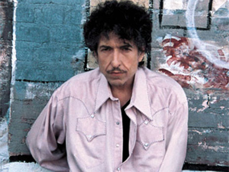 Bob Dylan Sure Grows One Hell of a Moustache