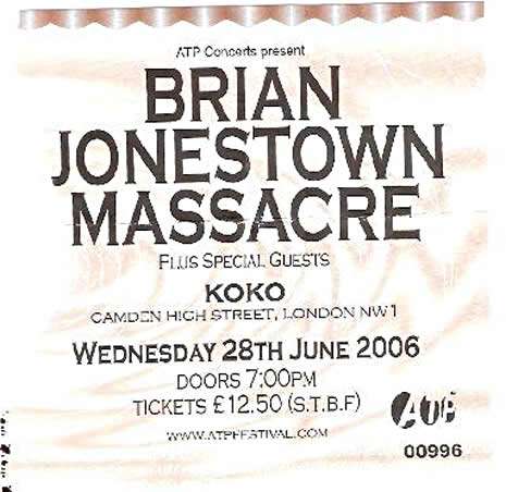 Cigarettes, Sideburns and a Tambourine: Brian Jonestown Massacre Live In London