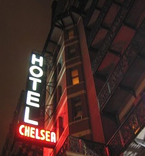 Chelsea Hotel Manhattan, A Selective Glossary, Part One