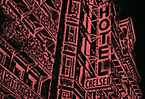 Chelsea Hotel Manhattan, Neon Liam