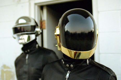 DAFT PUNK (and my disappearance into your America........maybe)