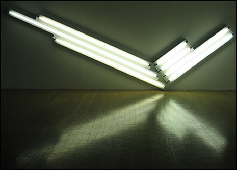 300 Words From London: Dan Flavin - All Light Now
