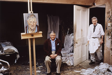 David Hockney's Portraits. It's Over