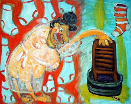Residency: Elisa Vegliante, Mondo Expressionist