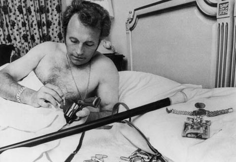 Evel Dead Daredevil Motorcycle Stunt Superstar Evel Knievel? Well now he's gone