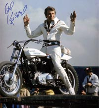 Evel in happier days