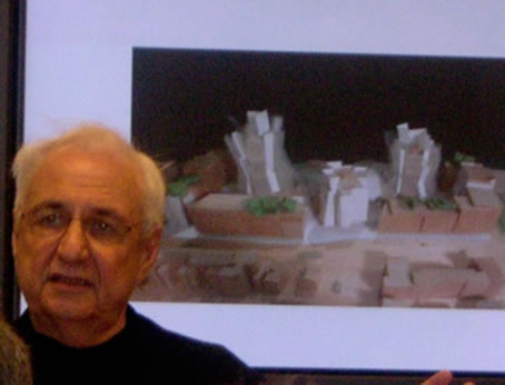 Frank Gehry Goes To Hollywood