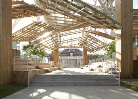 Septuagenarian Stew Say goodbye to Frank Gehry's Serpentine Gallery pavilion