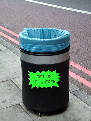 300 Words From London: More Rubbish