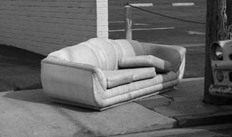 In Conversation With James Dean And His Gallery of Abandoned Sofas The abandoned sofas of Los Angeles