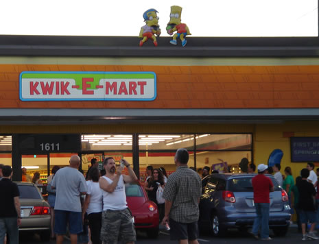Kraziness and Kaos at the Kwik-e-Mart