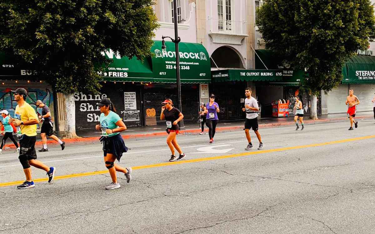 The 2020 LA Marathon  Athleticism in the Time of the Coronavirus