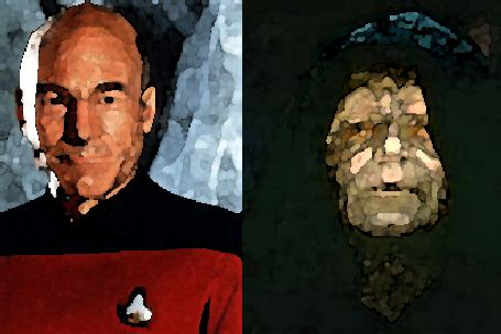 Picard vs Palpatine / Shakespeare vs Ibsen