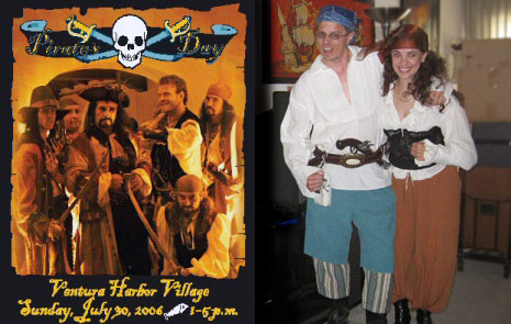 Booty Toting Busty Wenches on a Hot Fleshy Pirates Day