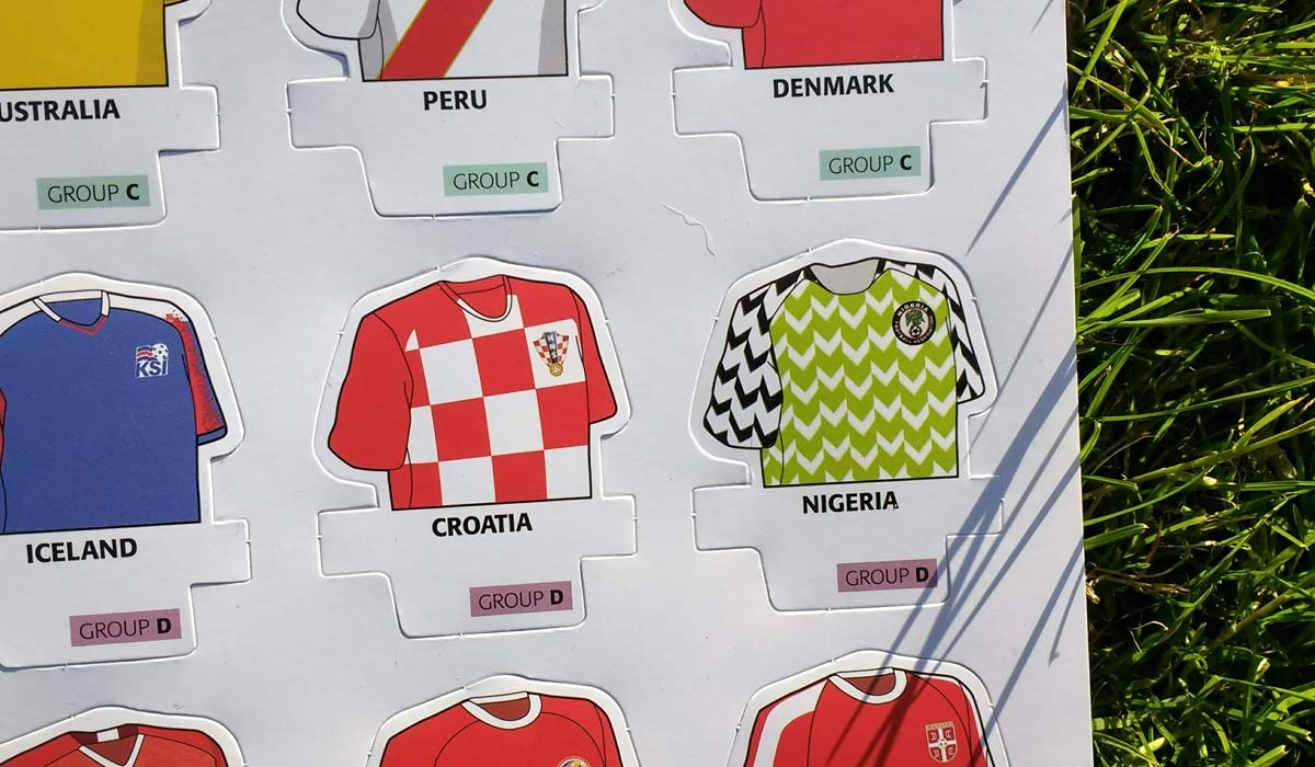 World Cup Shirts: Russia 2018