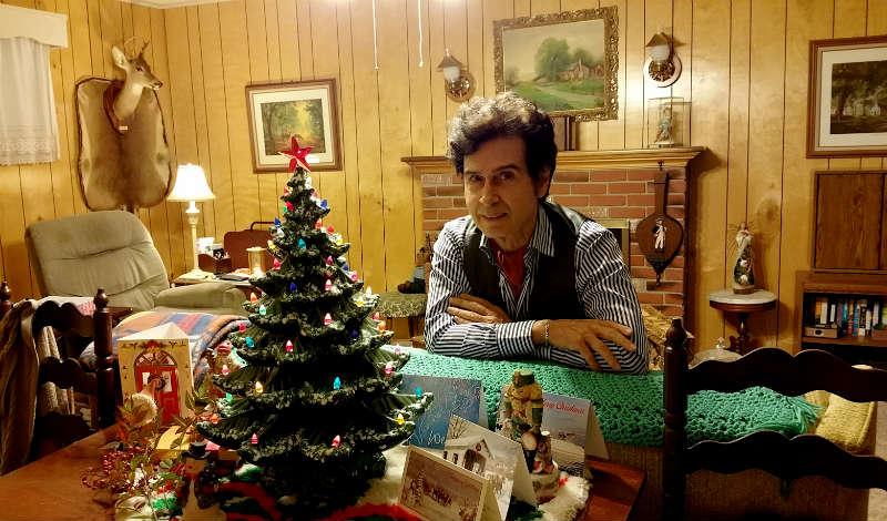 What is Tav Falco doing for Christmas?
