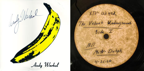 Yes! We Have No Bananas The Great Lost Velvet Undergound & Nico 1966 Scepter Acetate Online auction, your tipster, Marek Pytel