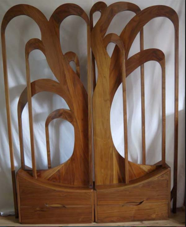 Walnut Screen
